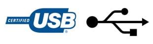 USB Symbol und Zeichen 1.0