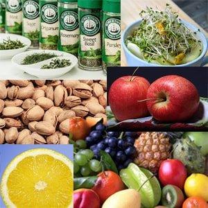 Lebensmittel mit Antioxidantien