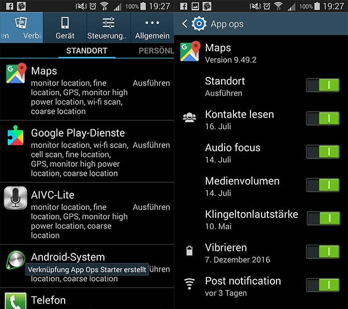 App-Berechtigungen mit App Ops Starter gezielt einschränken