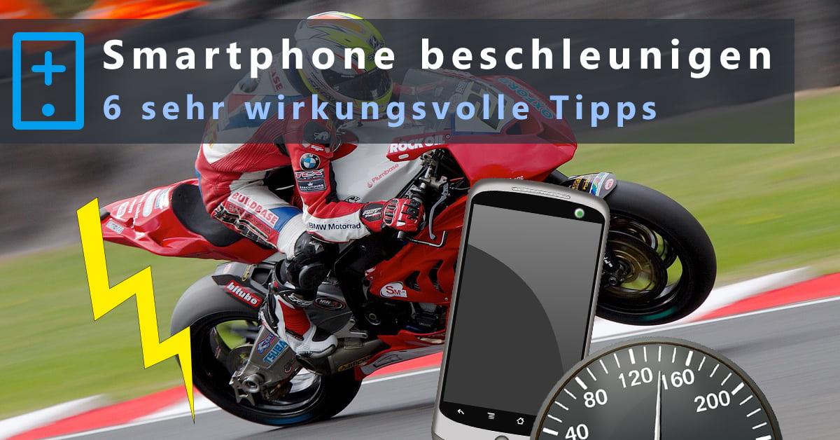 Smartphone Beschleunigen