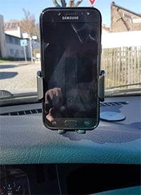 Aukey Handyhalterung HD-C46 von vorn