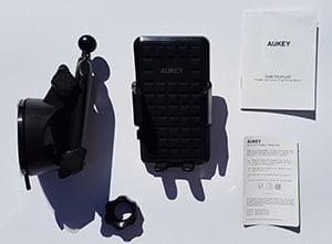 Aukey Handyhalterung HD-C46 Lieferumfang