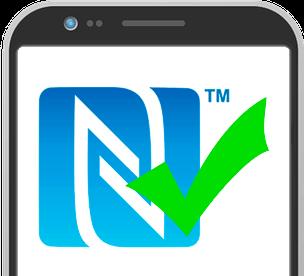 NFC-fähiges Smartphone erforderlich