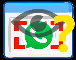 Ist ein Whatsapp-Status Screenshot sichtbar?